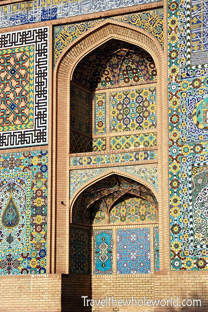 Afghanistan Herat Friday Mosque Details