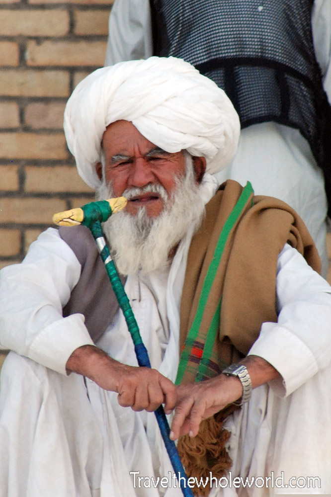 Friday Mosque Old Man