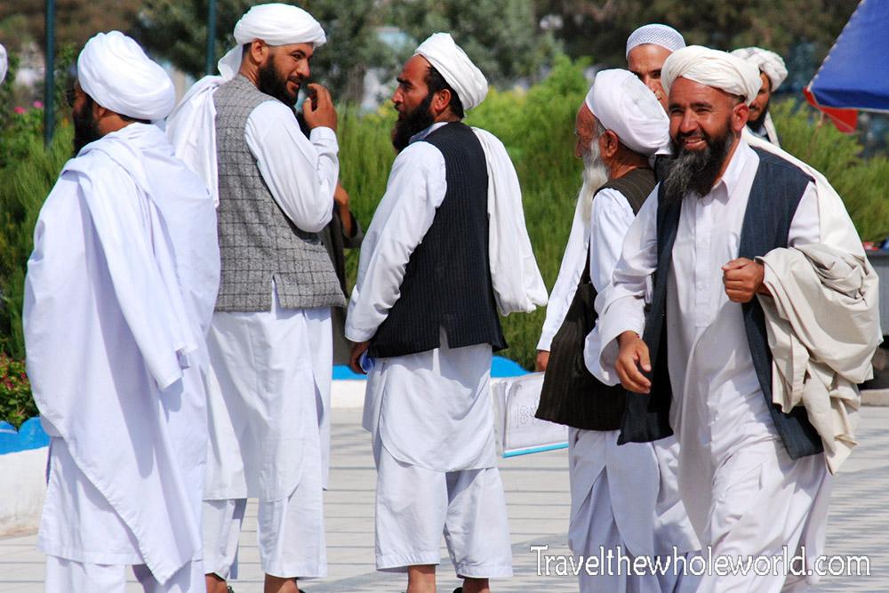 Afghanistan Friday Mosque Men