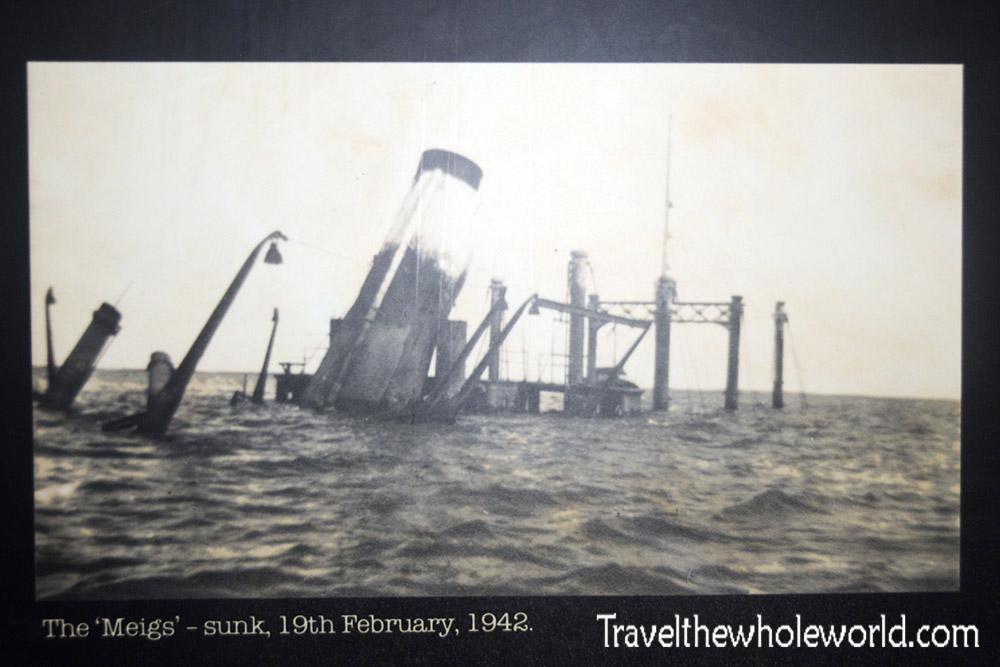 Darwin Australia Meigs Sinking