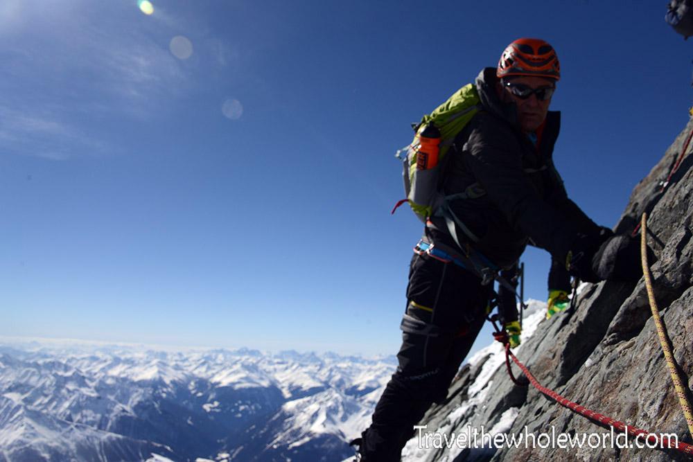 Climbing the Grossglockner