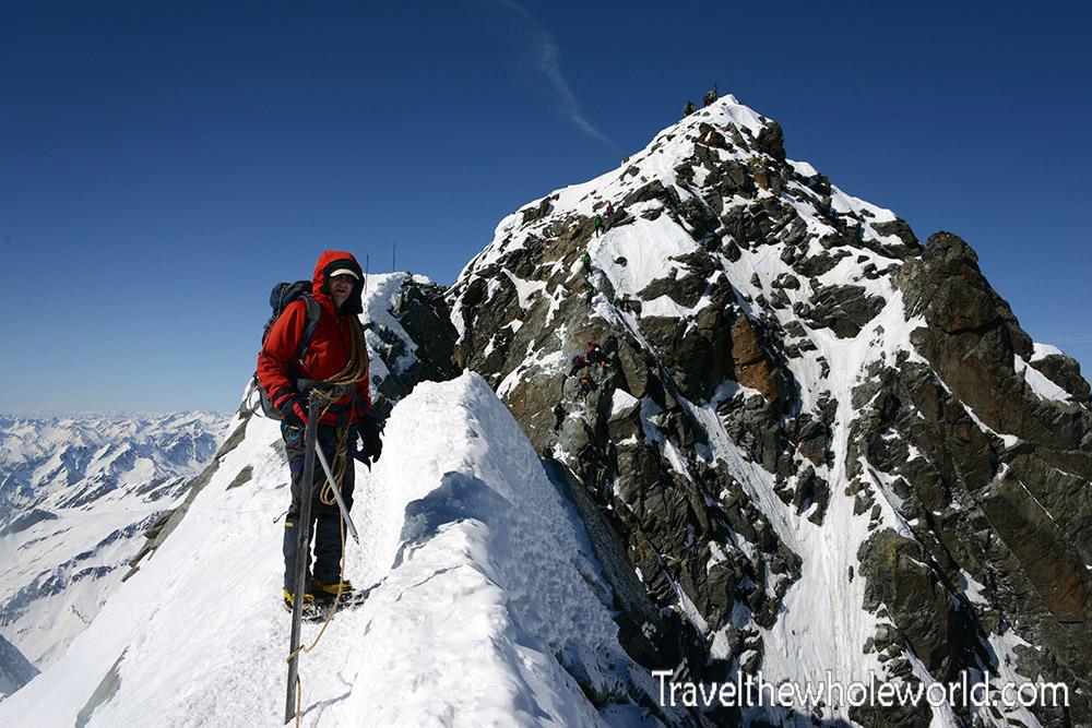 Austria Grossglockner Summit Ridge