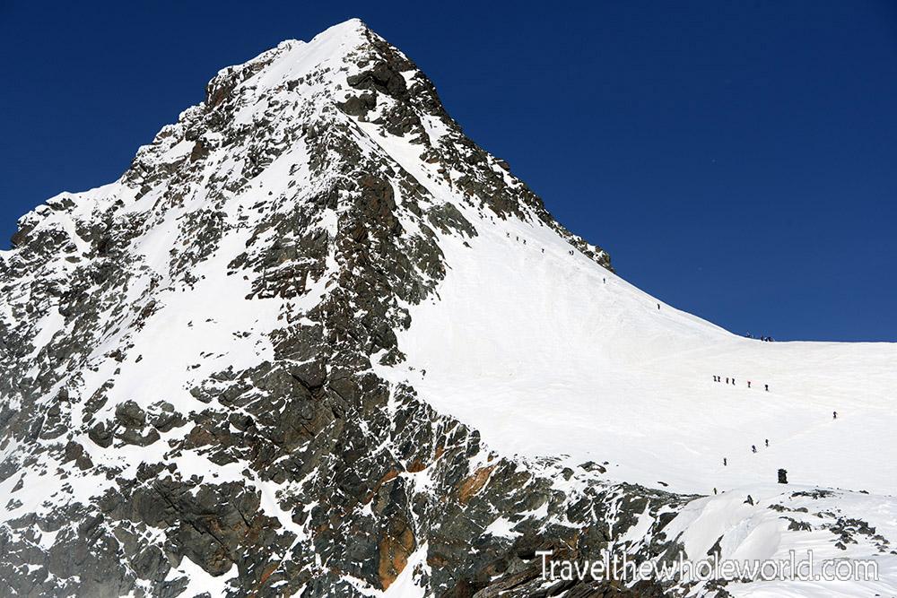 Austria Grossglockner Summit Approach