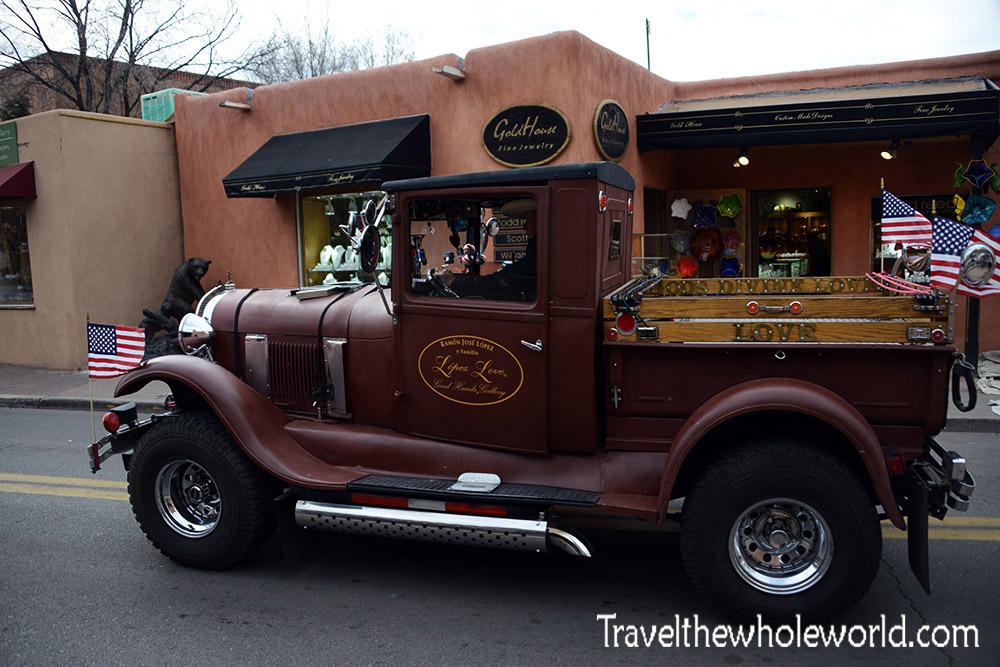Santa Fe Vintage Car