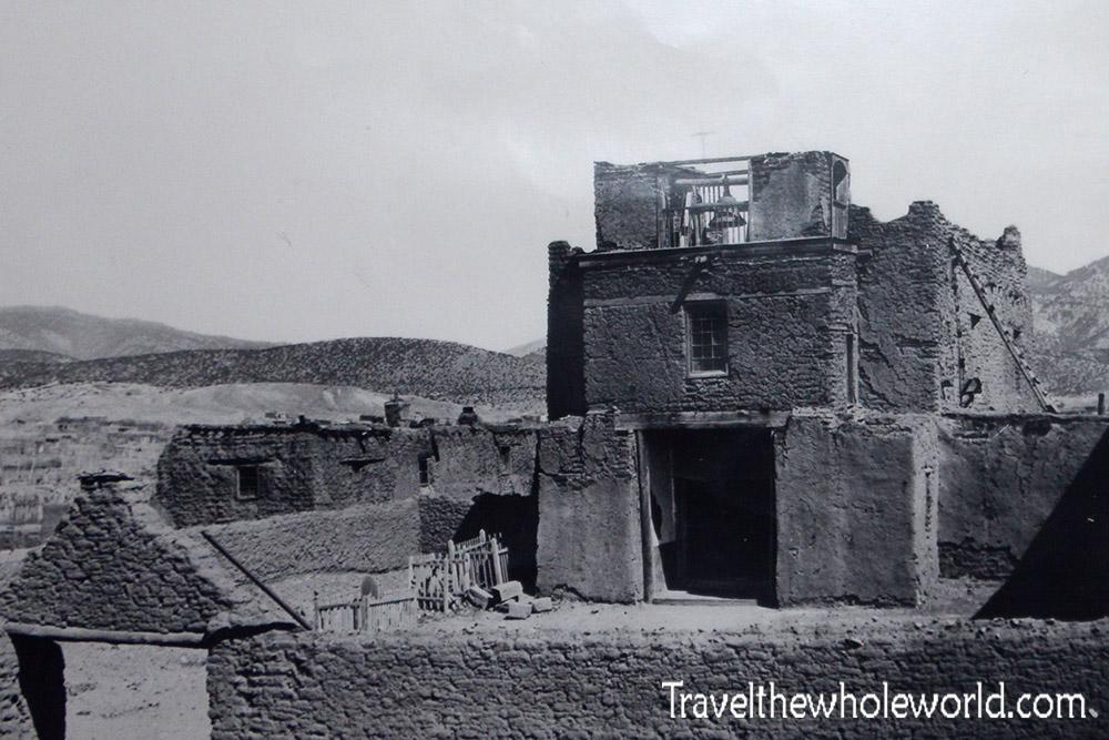 Santa Fe San Miguel 1800's
