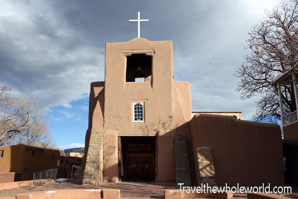 New Mexico Santa Fe San Miguel Mission Oldest Church