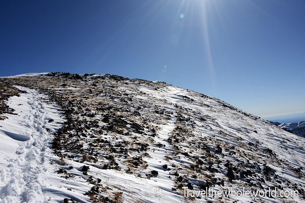 Wheeler Peak Summit Approach