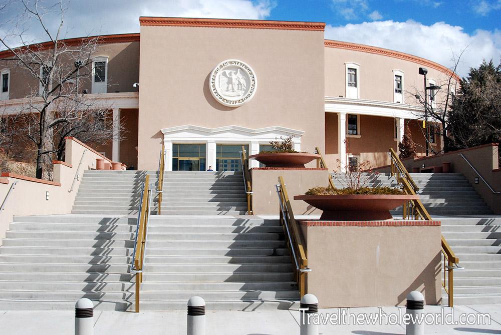 New Mexico Santa Fe Capitol