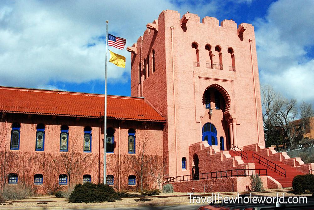 New Mexico Santa Fe Masonic Temple