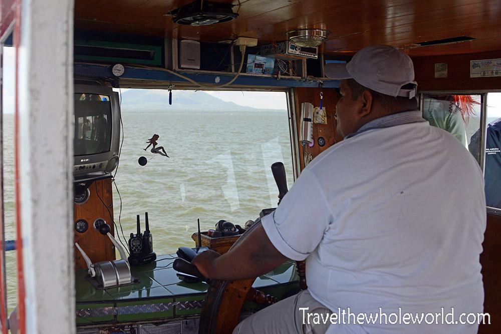 Nicaragua Ometepe Ferry Captain