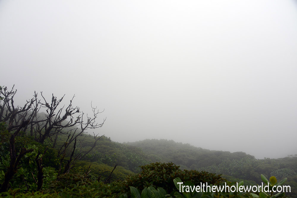 Nicaragua Ometepe Maderas Cloud Forest Lagoon