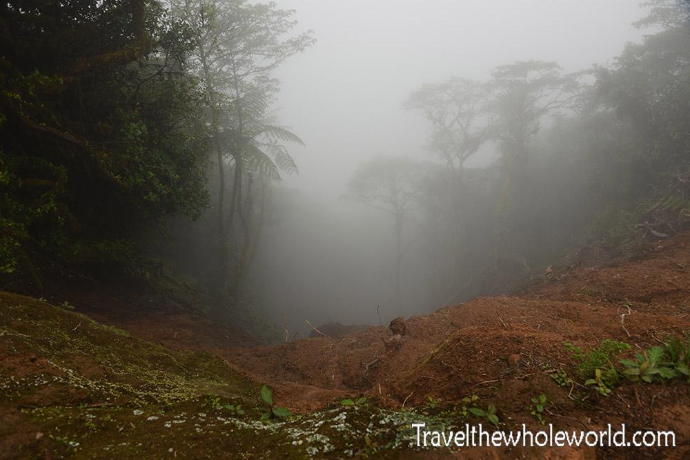 Nicaragua Ometepe Maderas Mud Slide