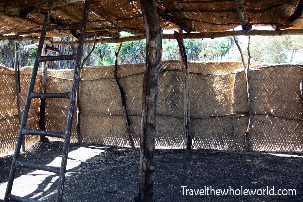 Sudan Dinder Hut Inside