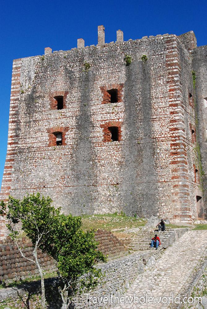 Haiti Citadel Rear Fortress