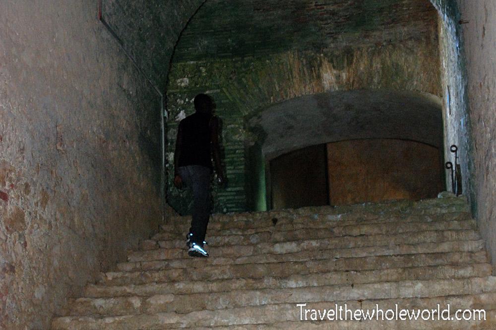 Haiti Inside Citadel