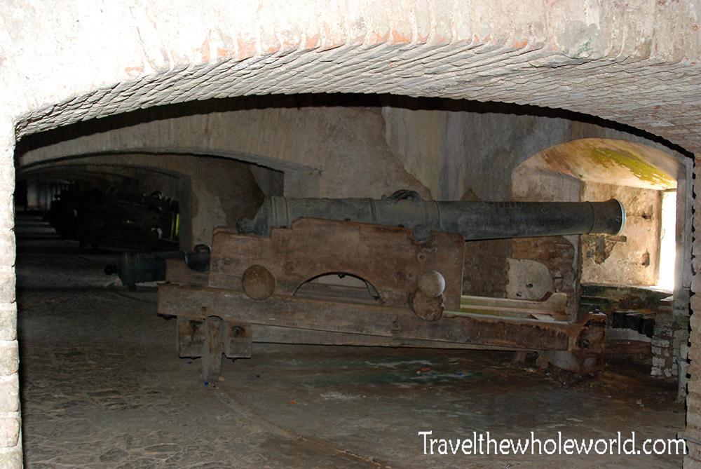 Haiti Citadel Cannons