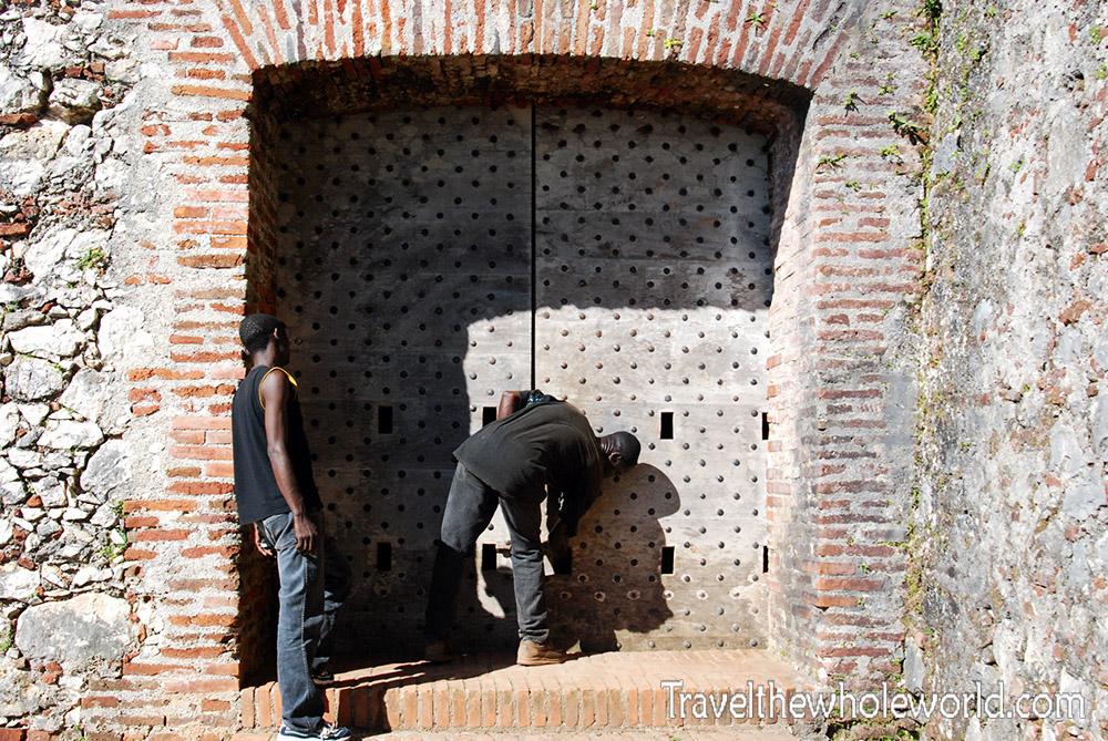 Haiti Citadel Door Entrance