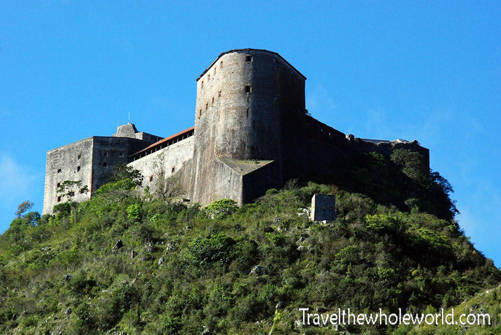Haiti Cap Haitien Citadel Laferrière