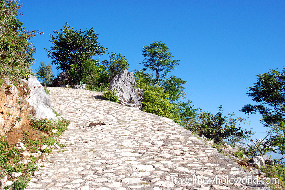 Cap Haiten Haiti Citdadel Path