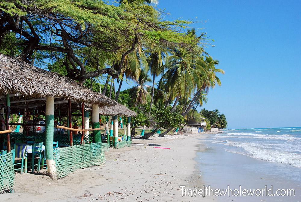 Haiti Jacmel Beach Restaurant