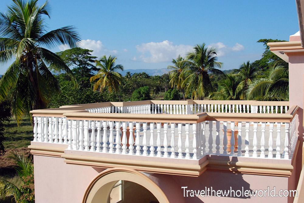 Haiti Jacmel Hotel Balcony