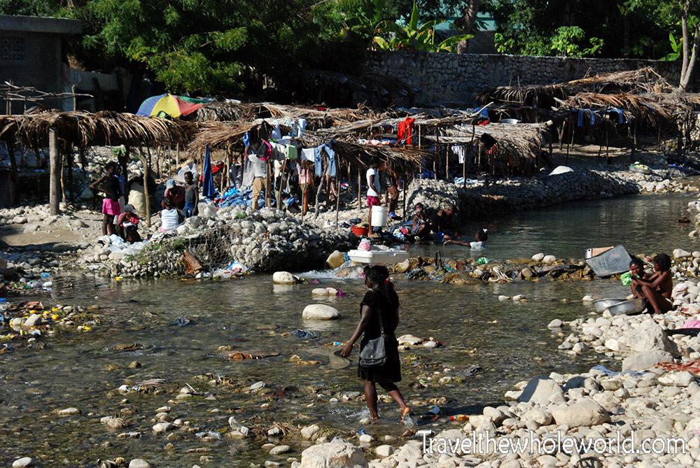 Haiti River Houses