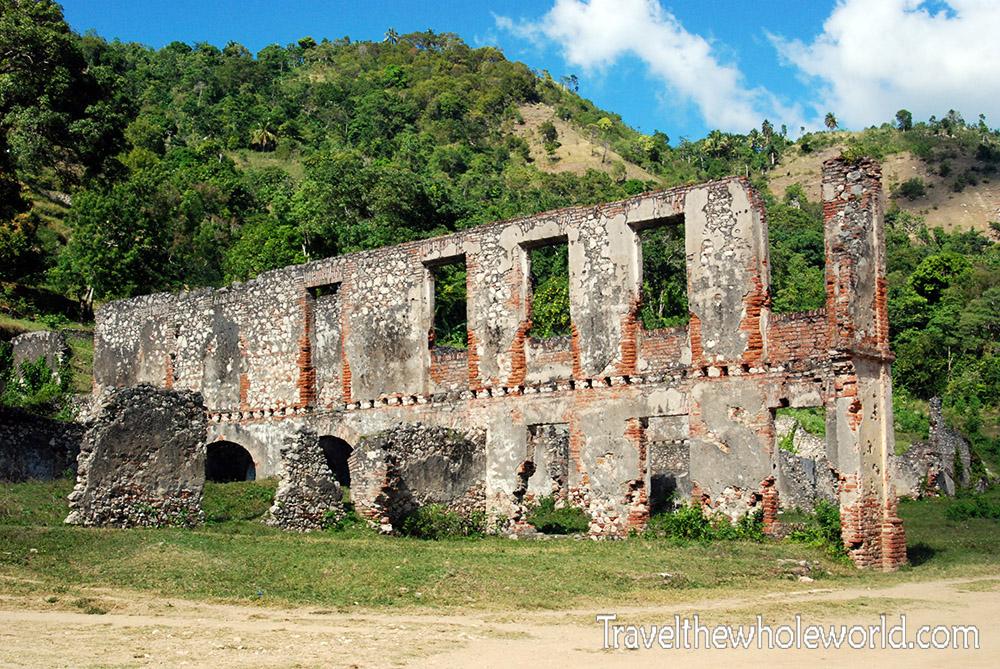 Haiti Sans Souci Palace Walls