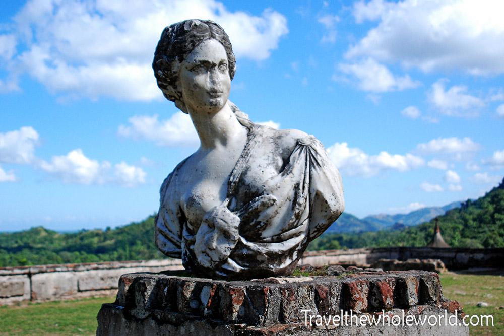 Haiti Sans Souci Bust Statue