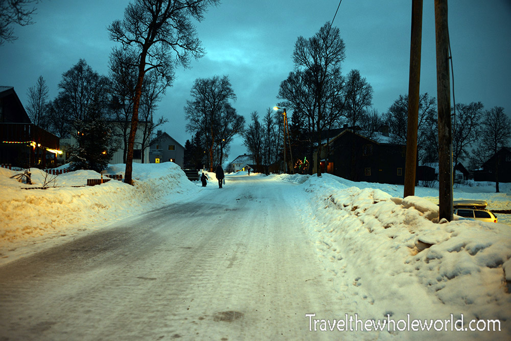 Tromso Neighborhood Arctic