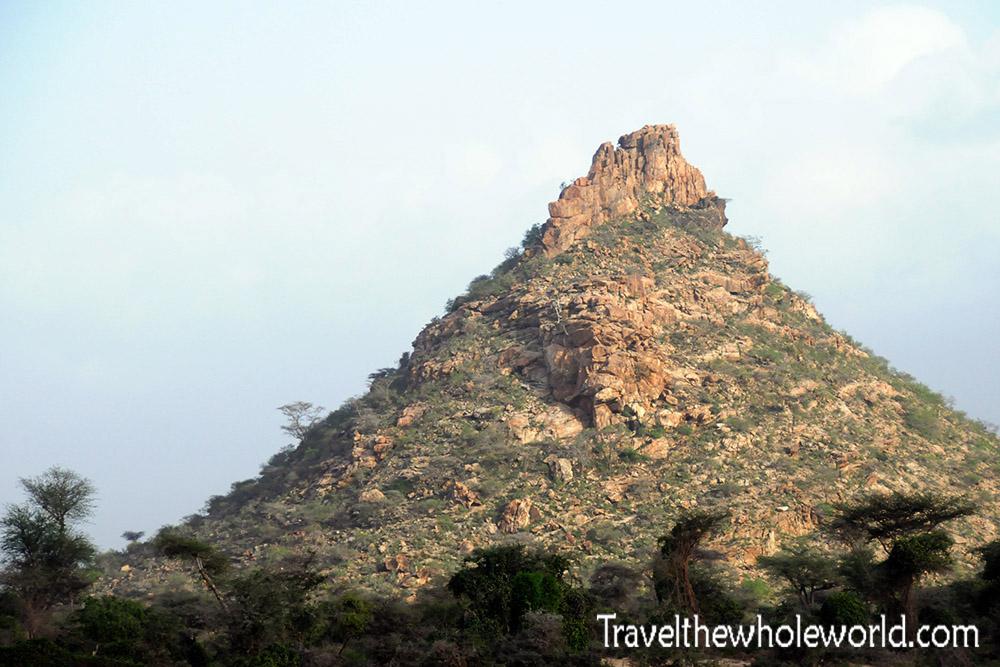 Somalia Pyramid Peak
