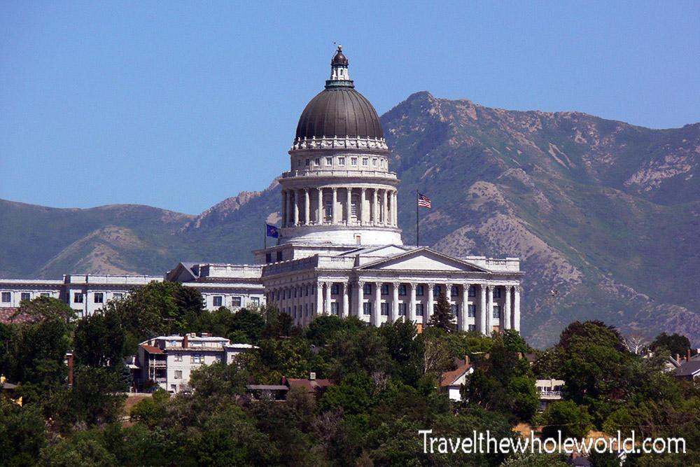 Utah Salt Lake City State Capitol