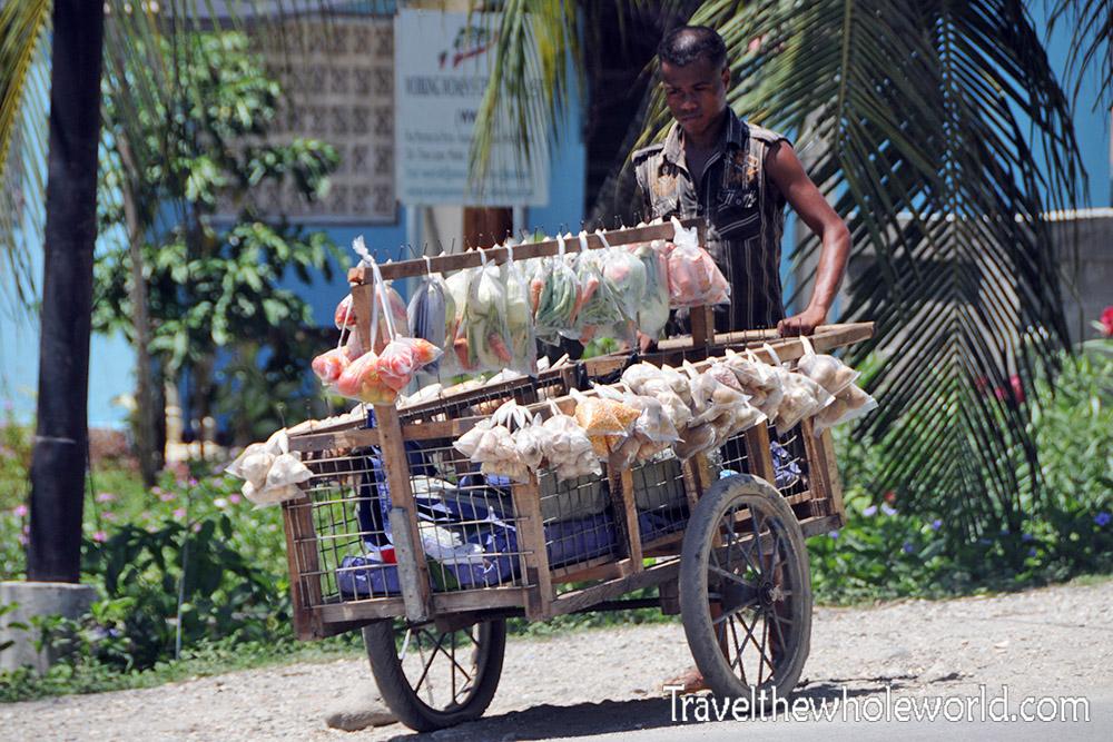 Timor Leste Dili Food Cart