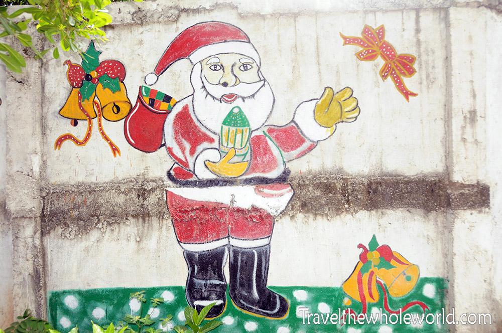 East Timor Leste Dili Santa Claus