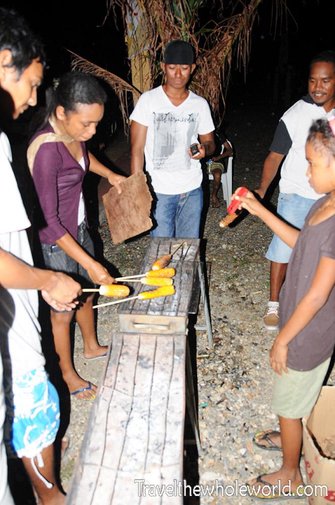 Timor Leste Corn