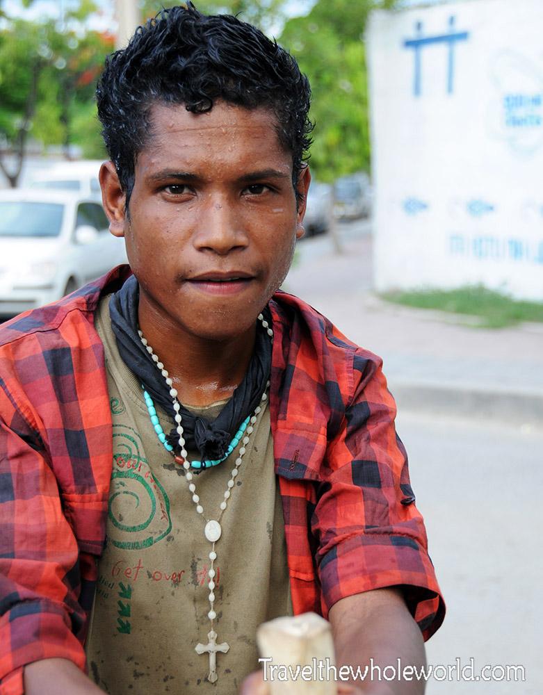 East Timor Dili Guy