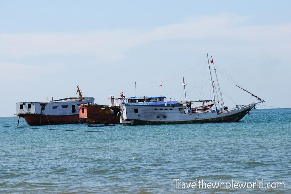 East Timor Leste Dili Ships