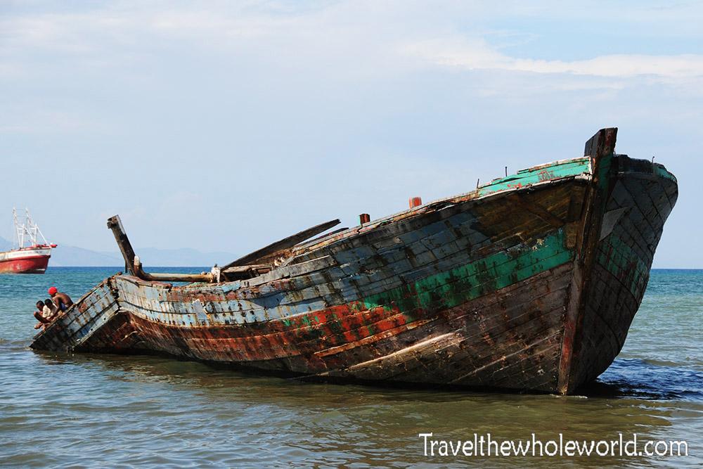 East Timor Leste Dili Shipwreck
