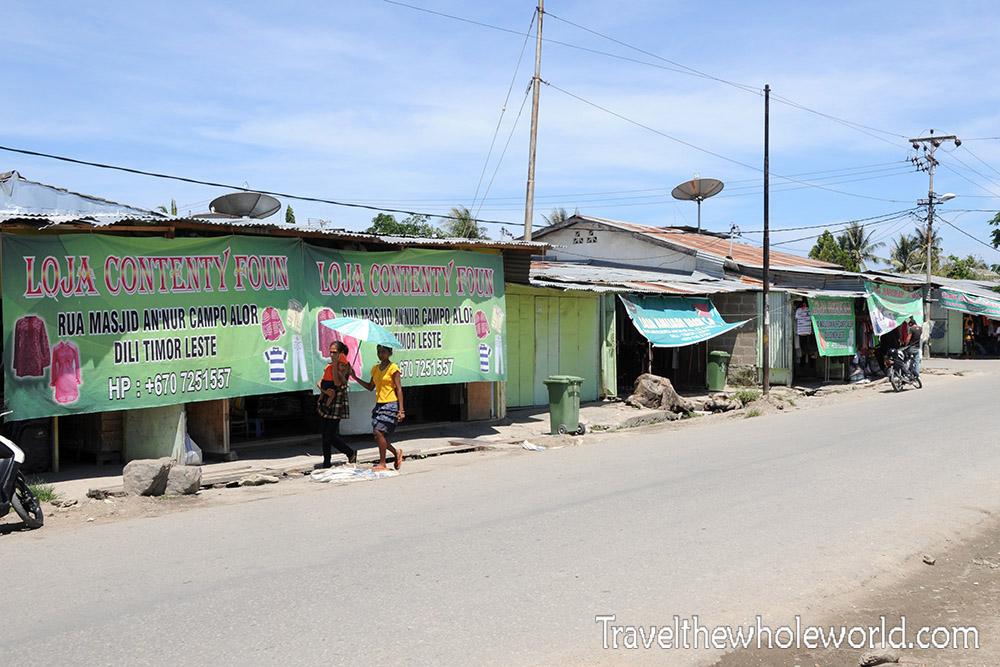 Timor Leste Dili Shops