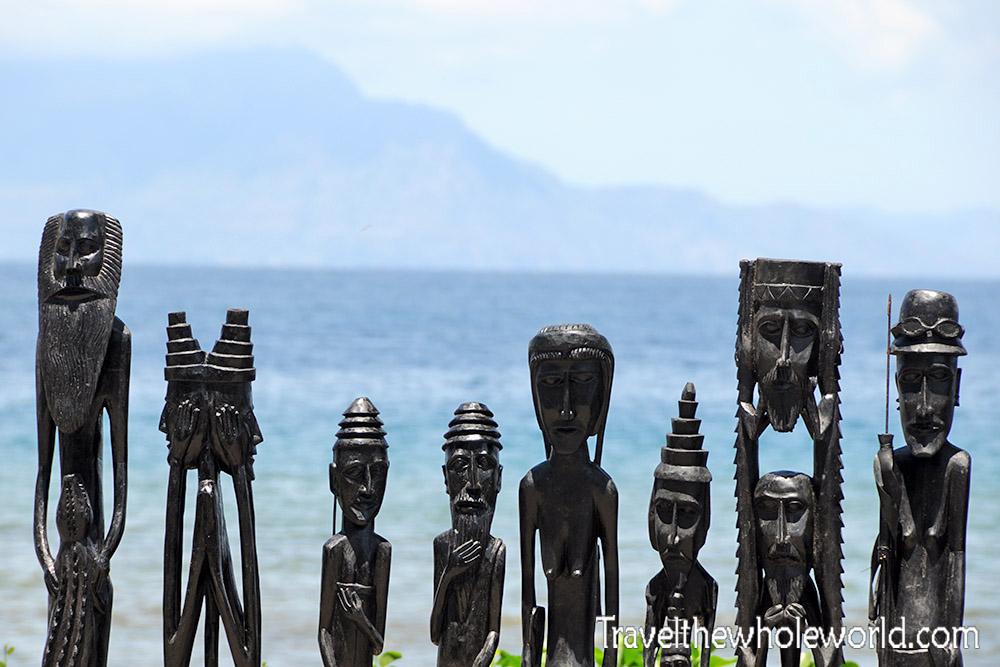 East Timor Leste Dili Statues Souvenirs