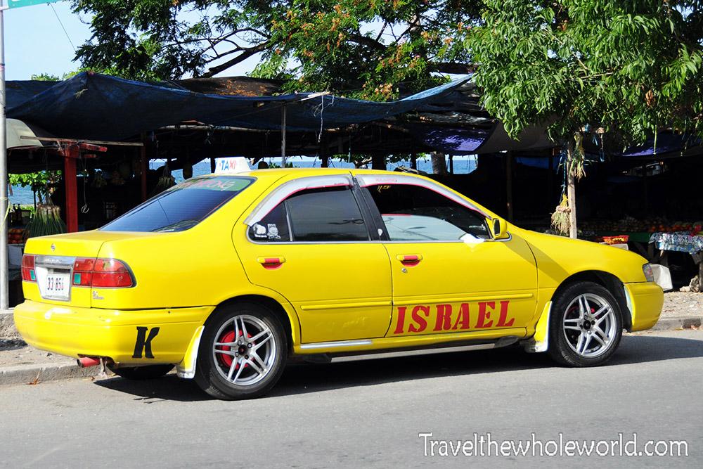 East Timor Leste Dili Taxi Driver