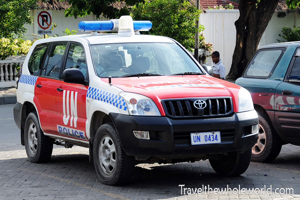 East Timor Dili UN Police
