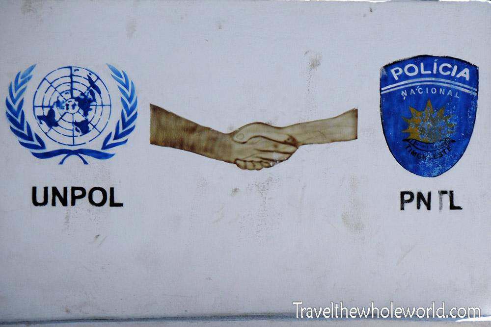 East Timor Dili UNPOL
