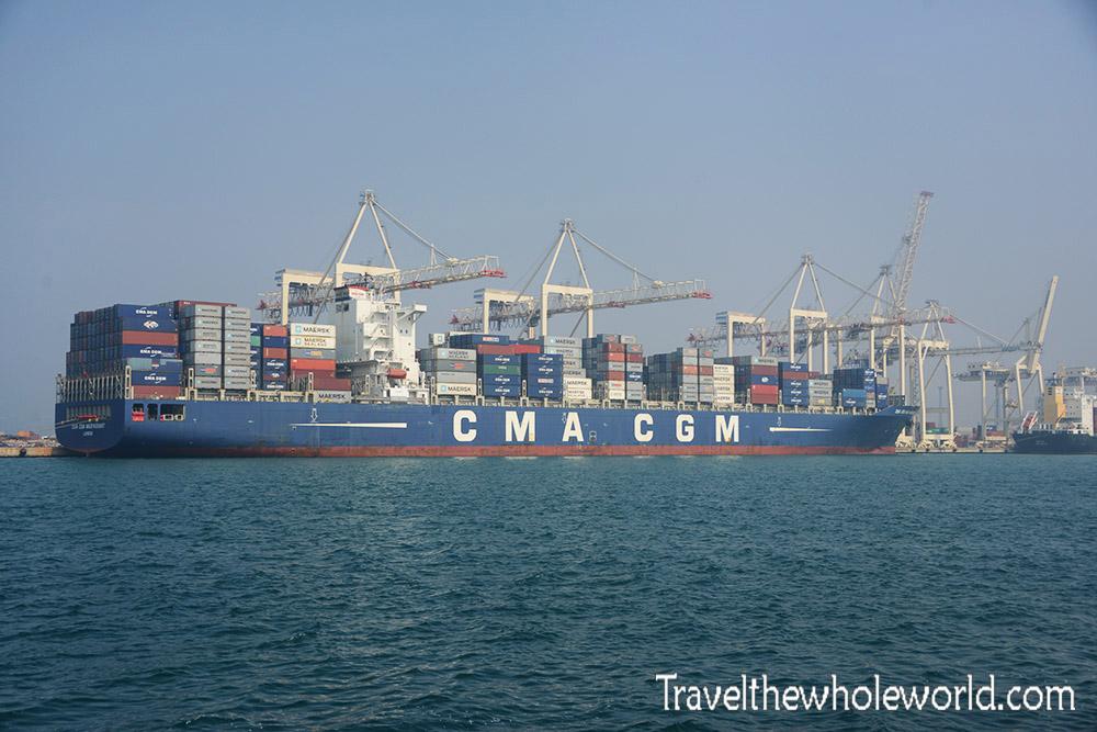 Slovenia Cargo Ship