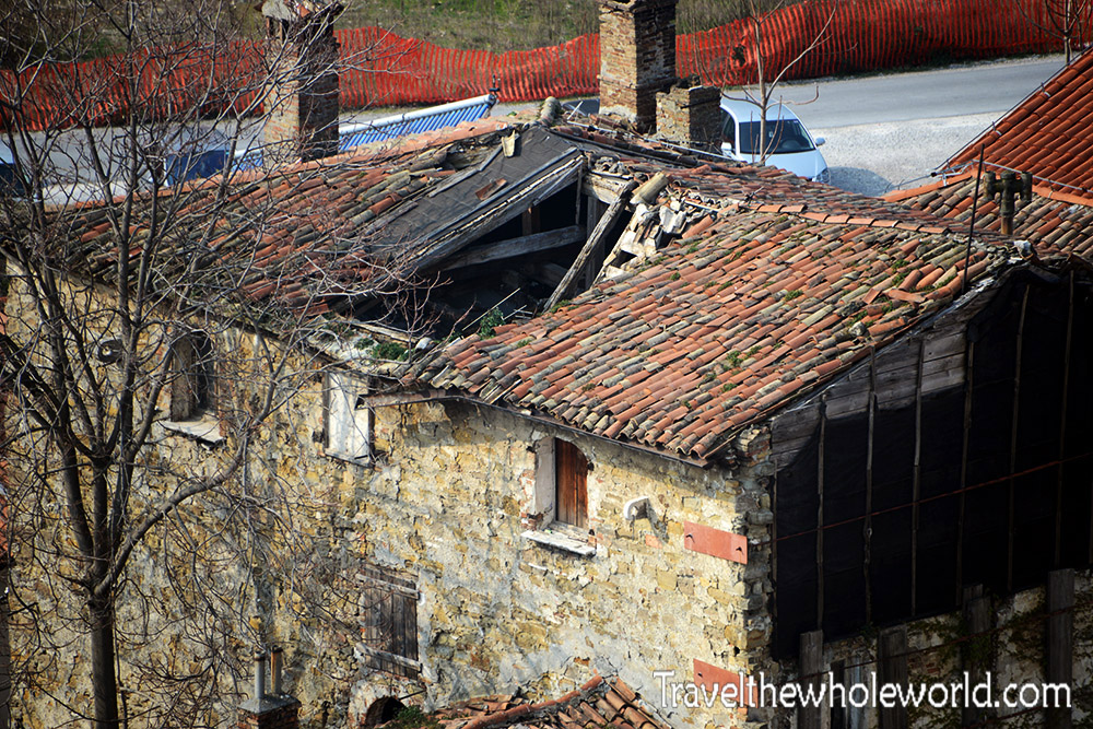 Slovenia Damaged Roof