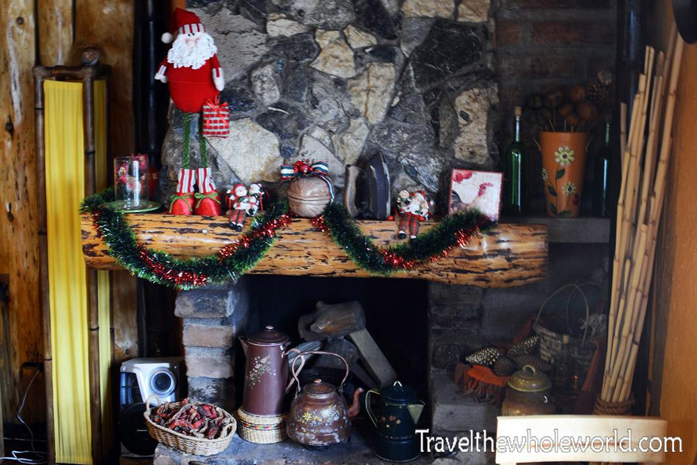 Otavalo Fireplace