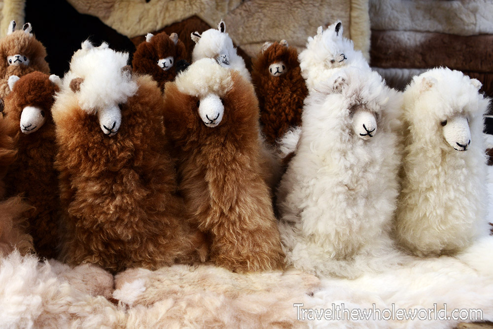 Otavalo Market Llamas