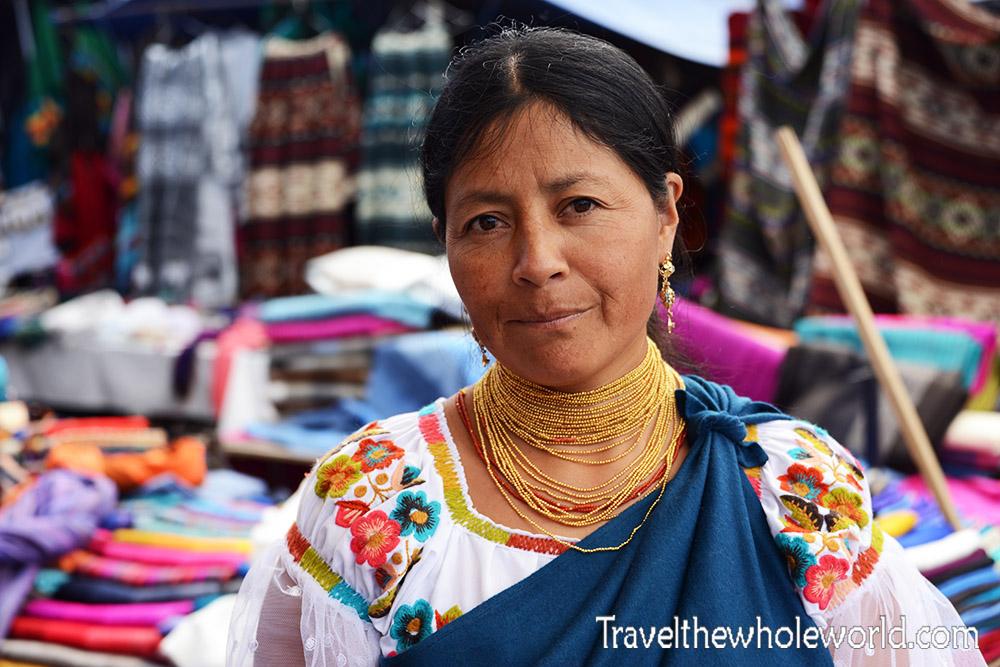 Ecuadorian Woman Otavalo
