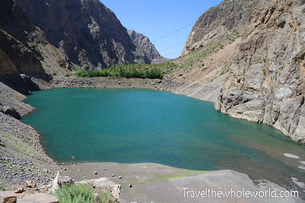 Tajikistan Fann Mountains Lake Second