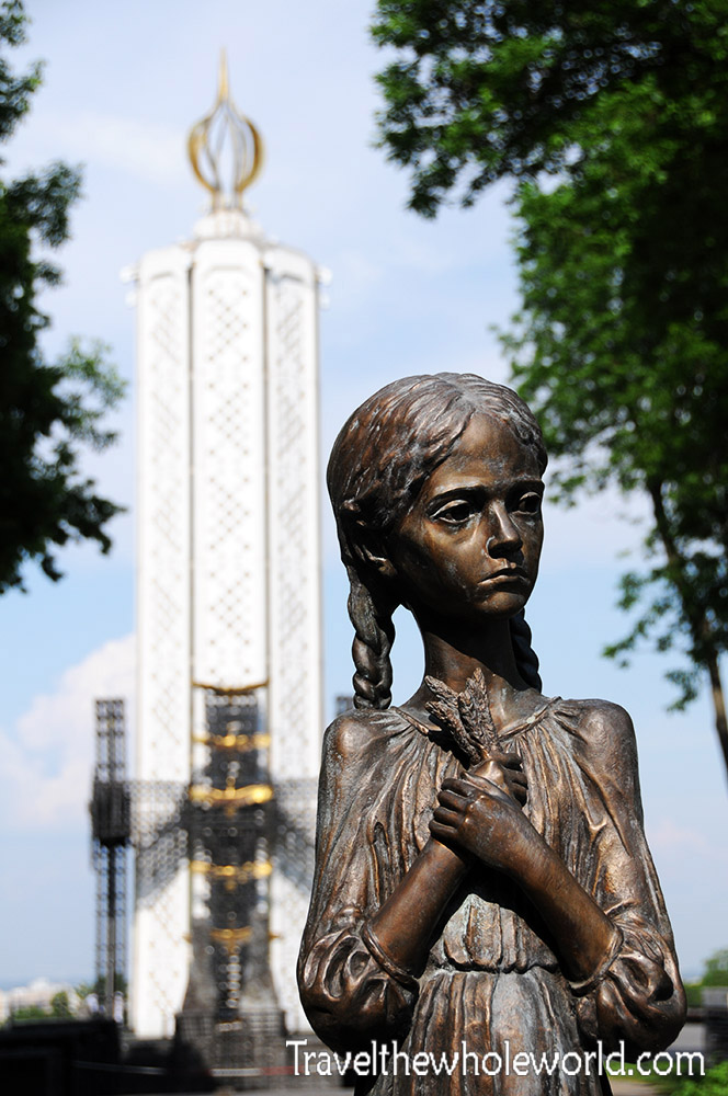 Ukraine Kiev Memorial Famine