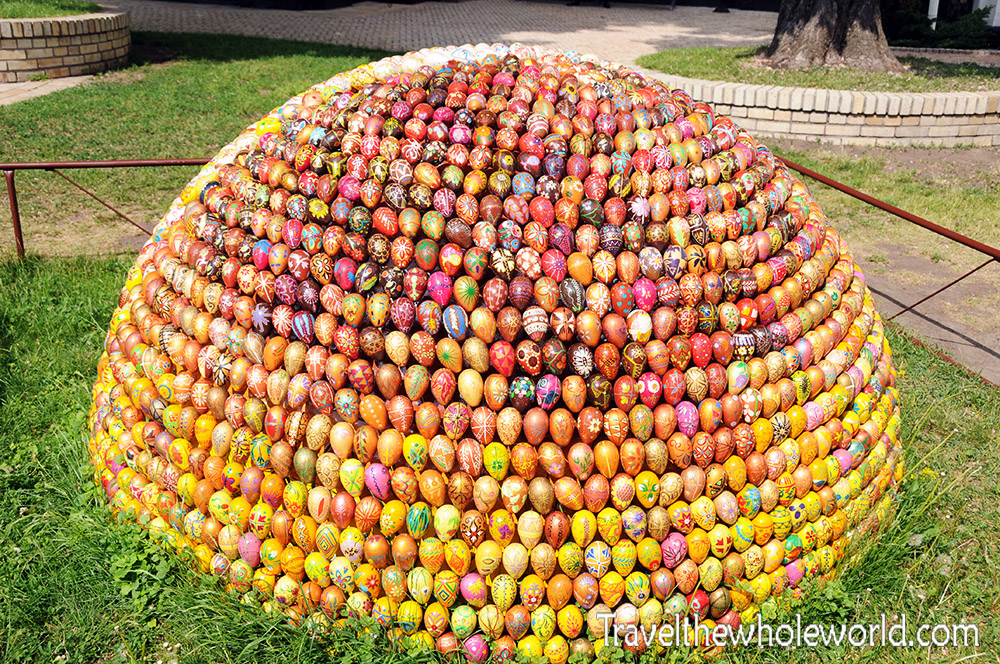Ukraine Kiev Monastery Cave Eggs